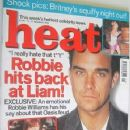Robbie Williams - Heat Magazine Cover [United Kingdom] (11 November 2000)