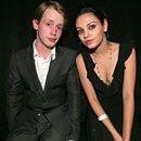 Macaulay Culkin and Mila Kunis