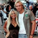 Jodie Marsh and Scott Wright