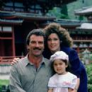 Tom Selleck and Marta DuBois