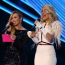 Demi Lovato and Rita Ora At The 2012 MTV Video Music Awards