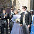 Ellie Goulding at her wedding to to Caspar Jopling in York - 454 x 667