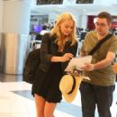 Margot Robbie At Toronto International Airport