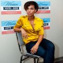 Alicia Keys at the West Philadelphia Obama Campaign field office in Philadelphia, Pennsylvania (July 16)