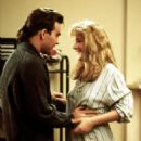 Patrick Swayze and Helen Hunt