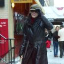 Angie Harmon - Out And About In NYC On 11.23.02