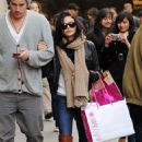 Jenna Dewan and Channing Tatum out shopping in Soho, NYC, April 28, 2010
