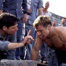 Frank Military and Robert Redford in Dreamworks' The Last Castle - 2001