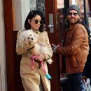 Vanessa Hudgens Leaving Her Apartment In Soho