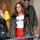Isla Fisher at BBC Broadcasting House in London - 454 x 551