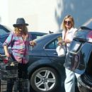 Drew Barrymore and Cameron Diaz – Shopping at Bristol Farms in Hollywood - 454 x 584