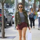 Crystal Reed Shops in Beverly Hills, CA 3/3/2016 - 454 x 657