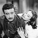 Capucine and Peter Sellers