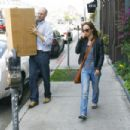 Christina Ricci Is Spotted On Melrose Avenue - 04/30/09