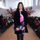 Adriana Lima- Gabriela Cadena Fall/Winter 2015 Runway Show - Front Row & Backstage