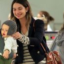 Lily Aldridge Out With Miranda Kerr In NYC