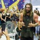 Jason Momoa- August 19, 2016- Jason Momoa Enjoys Extreme Sports In Barcelona - 454 x 303