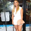 Jacqueline Jossa – Arriving at VO5 x Love Island party in London - 454 x 686