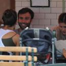 Alessandra Ambrosio And Fiance Jamie Mazur Lunch At Pastis With Their Daughter Anja In NY June 13 2010