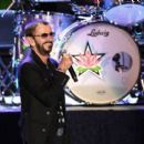 Ringo Starr performs during the Ringo Starr and his All Starr Band concert at The Greek Theatre on September 01, 2019 in Los Angeles, California - 454 x 400