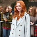 Eleanor Tomlinson – Topshop Unique Show at 2017 LFW in London February 19, 2017 - 454 x 678