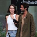 Adelaide Kane Leaving dinner with her boyfriend in Vancouver July 14, 2017 - 454 x 681