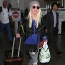 Tara Reid – Arriving at LAX Airport in Los Angeles