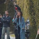 Sarah Hyland – On the on set of 'Modern Family' in West Hollywood