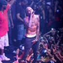 Chris Brown performing at the Gotha Club in Cannes (July 25)
