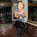 Paris Hilton In Leggings