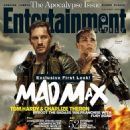 Charlize Theron & Tom Hardy in Entertainment Weekly - Mad Max Fury Road Cover