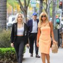 Donna D'Errico and Frankie-Jean Sixx are seen in Los Angeles, California on June 21, 2019 - 450 x 600