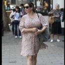 Kelly Brook – In dress at Global Radio in London