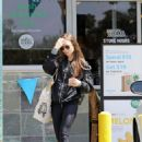 Lily Collins – Out shopping in Los Angeles