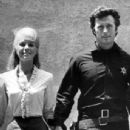 Clint Eastwood and Inger Stevens