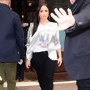 Demi Lovato – Leaves her hotel in NYC - 454 x 618
