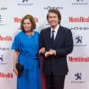 Raphael and Natalia Figueroa- Men's Health Awards 2014 in Madrid