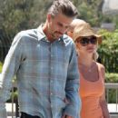 Britney Spears And Jason Trawick: Weekend Getaway