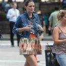 Mischa Barton - Walks To The Set Of The Beautiful Life, 2009-09-23