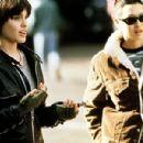 Angelina Jolie and Jenny Shimizu