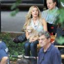 Ashley Tisdale: On the set Scary Movie 5