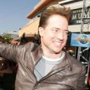 Brendan Fraser's visit to Universal Studios Hollywood's Revenge of The Mummy - The Ride!