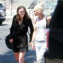 Gwen Stefani – Leaving the Museum Of Ice Cream in Los Angeles - 454 x 681