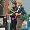 Kristin Kreuk and Allison Mack – Shopping in Vancouver - 454 x 679