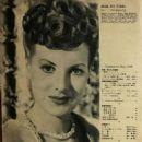 Maureen O'Hara - Eiga no tomo Magazine Pictorial [Japan] (May 1949) - 454 x 641