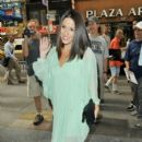"Soleil Moon- Frye arrives at the ""Today Show"" in New York City"
