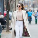 Izabel Goulart out and about in New York City - 454 x 681