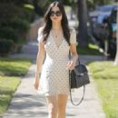 Jessica Gomes in mini dress out in Beverly Hills - 454 x 649