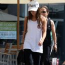 Ashley Tisdale - Outside Equinox Gym Hollywood Sept 4 2009