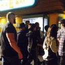 "Selena Gomez and Justin Bieber were spotted visit ""Halloween Horror Nights"" at the Universal Studios on Saturday September 20th in Los Angeles, California"